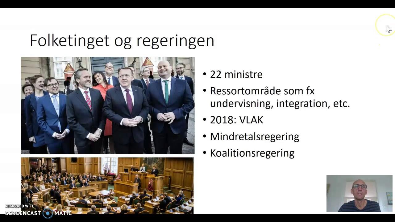 Det danske politiske system