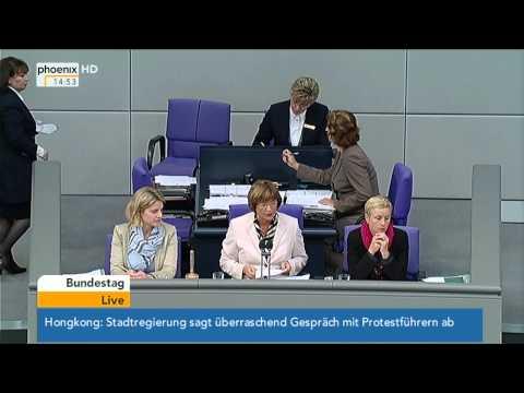 Bundestag: Debatte zur Änderung des BVerfG-Gesetzes am 09.10.2014