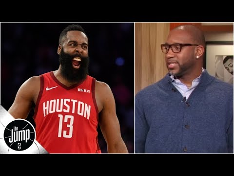 Tracy McGrady can't understand why teams don't double James Harden | The Jump