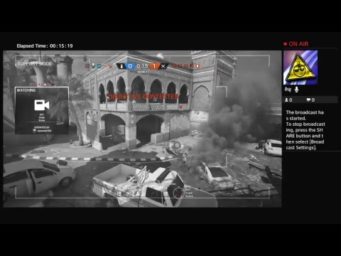 Rainbow 6 Seige online ,, Live PS4 Broadcast