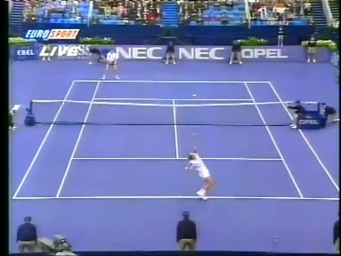 Davis Cup 94 Edberg vs Volkov