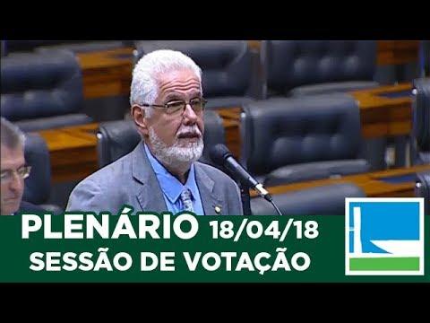 PLENÁRIO - Sessão Deliberativa - 18/04/2018 - 13:00