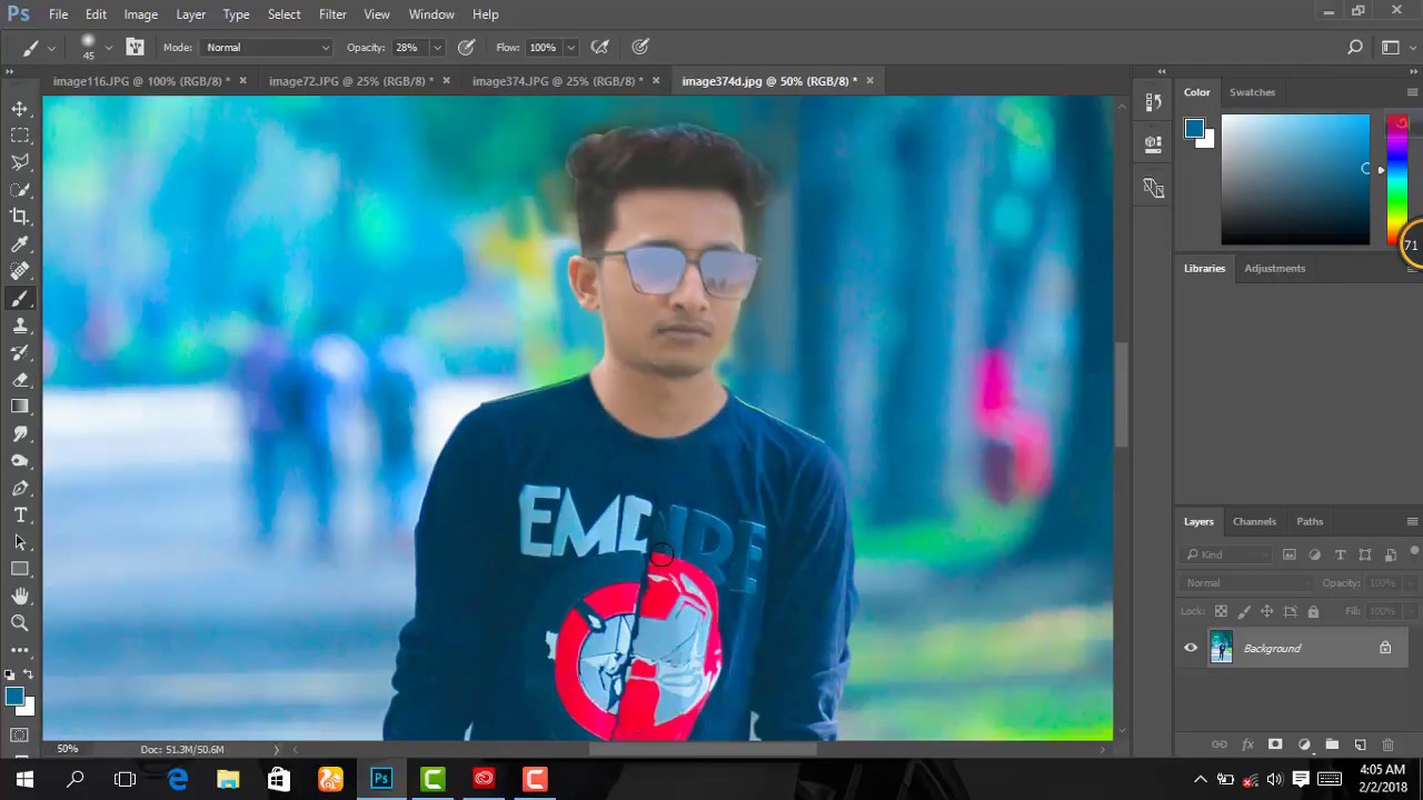 Foggy effect high details cb edit photoshop tutorials new foggy effect high details cb edit photoshop tutorials new photoshop tutorial 2018 baditri Image collections