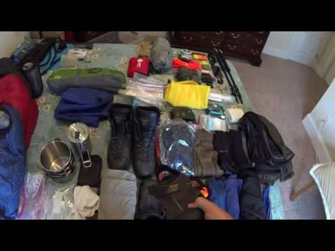 Hiking Camping Gear List