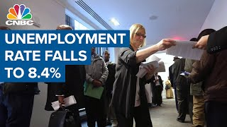 Unemployment rate falls to 8.4% as U.S. economy adds 1.37 million jobs in August