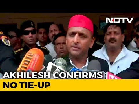 """So Be It"": Akhilesh Yadav Reacts After Mayawati Puts 'Gathbandhan' On Hold"