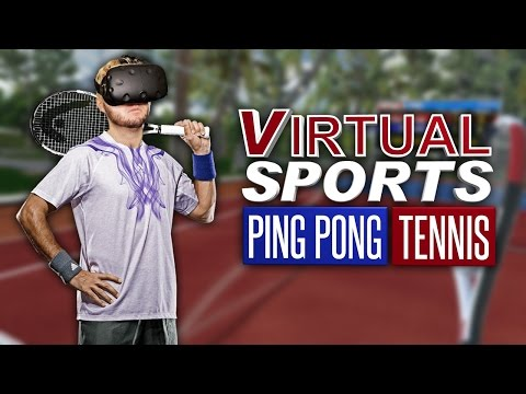 THE BEST VR TENNIS GAME HAS ARRIVED | Virtual Sports Gameplay (HTC Vive)