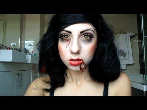 Dead Snow White - Dark Disney Inspired Makeup Tutorial - YouTube