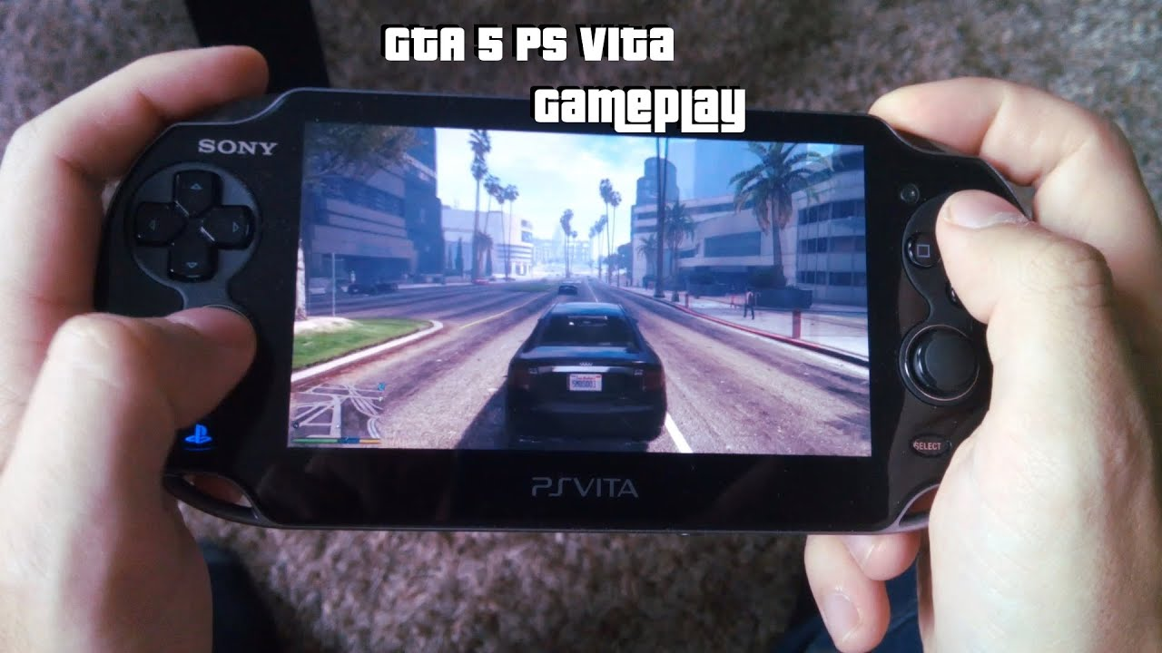 Gta 5 Ps Vita Gameplay Youtube