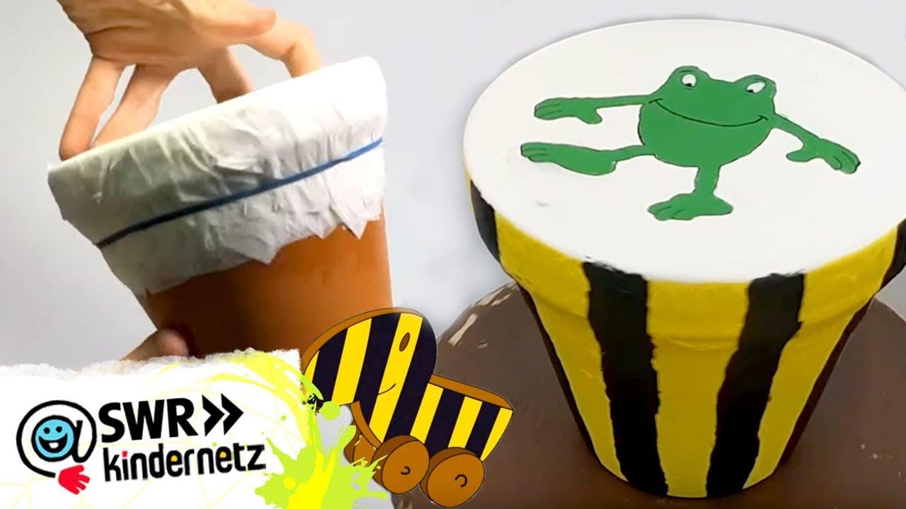 Top DIY-Tipp: Trommel selber bauen   Tigerenten Club   SWR Kindernetz GI67