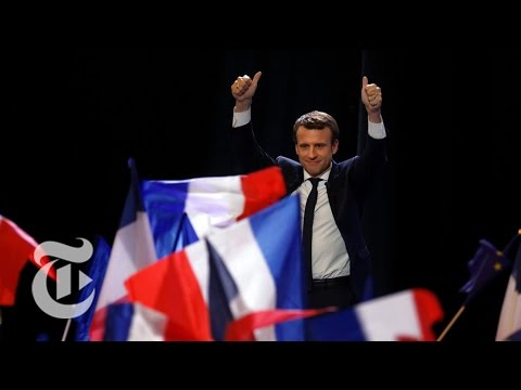 Emmanuel Macron Speaks To Supporters | The New York Times