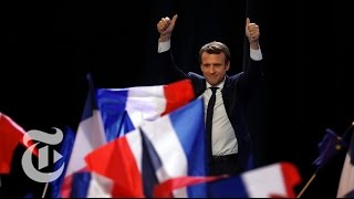Emmanuel Macron Speaks To Supporters   The New York Times