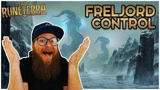 Legends of Runeterra ● Freljord Shadow Control Gameplay