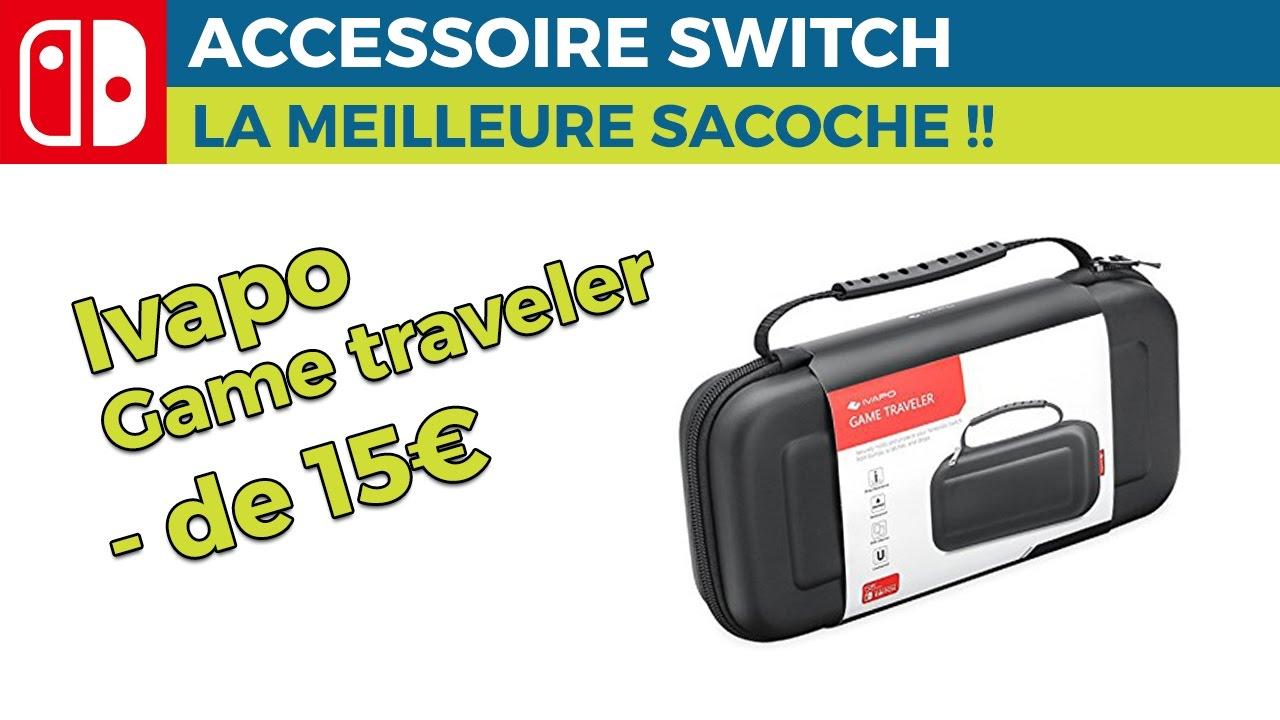 Nintendo Switch , Meilleurs accessoires , La meilleure sacoche , Ivapo game  traveler