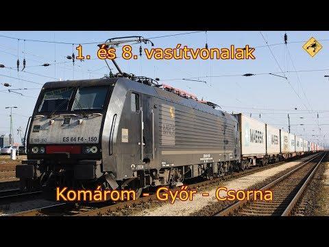 Komárom - Győr - Csorna | 4K UHD