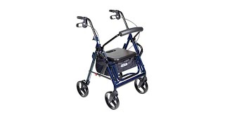 Drive Medical Duet Transport Chair/Rollator Walker