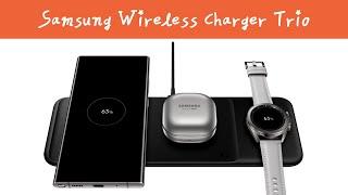 3가지 디바이스 무선 충전을 한번에! Samsung W…
