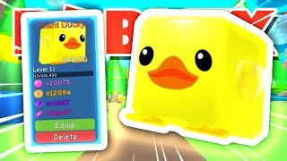 HOW TO GET THE *GIANT* DUCKY IN ROBLOX BUBBLEGUM SIMULATOR!!! [UPDATE 13] (Giveaway)