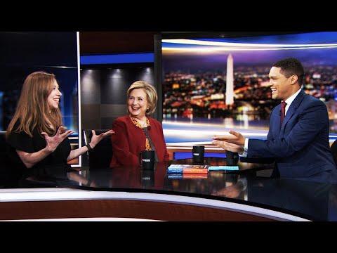 Trevor Noah Helps Hillary Laugh Off Epstein