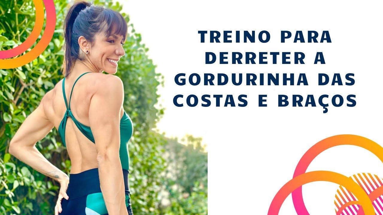 🔴Acabar com gordurinha das costas e membros superiores 💪🏻 CRONOGRAMA DE TREINOS DA SEMANA