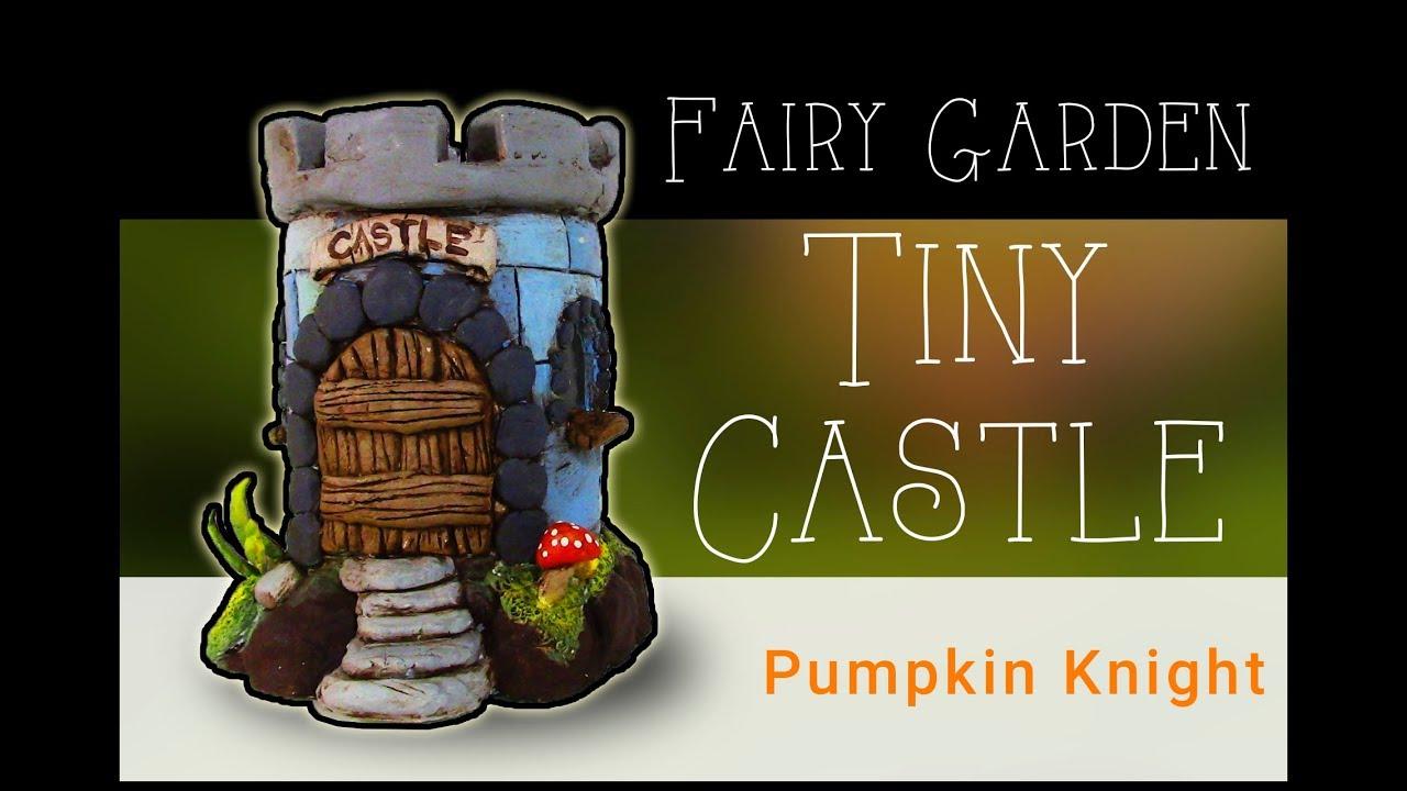 DIY Fairy Garden House Tiny Castle - YouTube