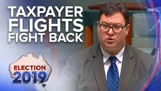 George Christensen accused of taxpayer-funded flight rorts   Nine News Australia