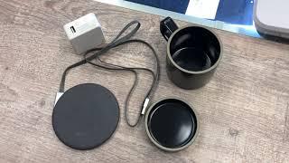 Кружка с подогревом Xiaomi VH Wireless Charging Electric Cup. Обзор новой кружки от Xiaomi.