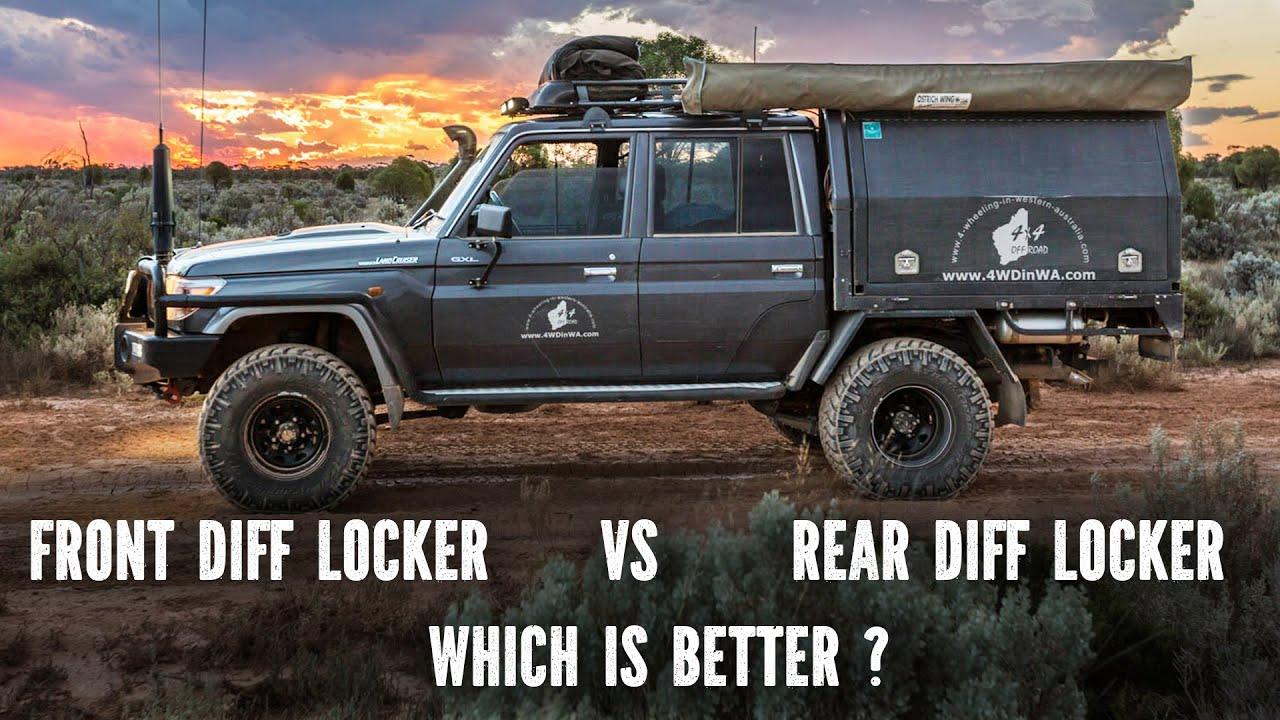 Lock Right Locker >> Front Diff Locker vs Rear Diff Locker - YouTube