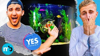 Yes Theory's $10,000 Fish Tank REVEAL
