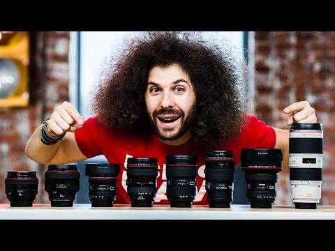 """My """"ULTIMATE"""" CANON Full Frame Lens Kit"""