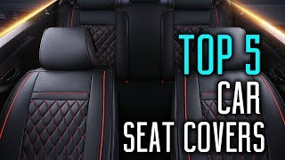 5 Best Car Seat Covers 2018