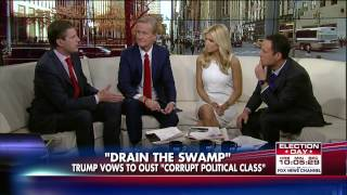 Eric Trump Says His Father Is Going to Drain the Swamp