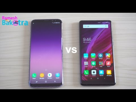 Mi Mix 2 vs Samsung Galaxy S8 Plus Speed Test Comparison
