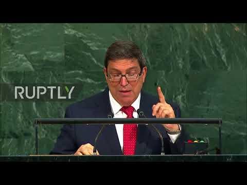 UN: 'US doesn't have moral authority to judge Cuba' - Cuban FM slams Trump's UNGA speech