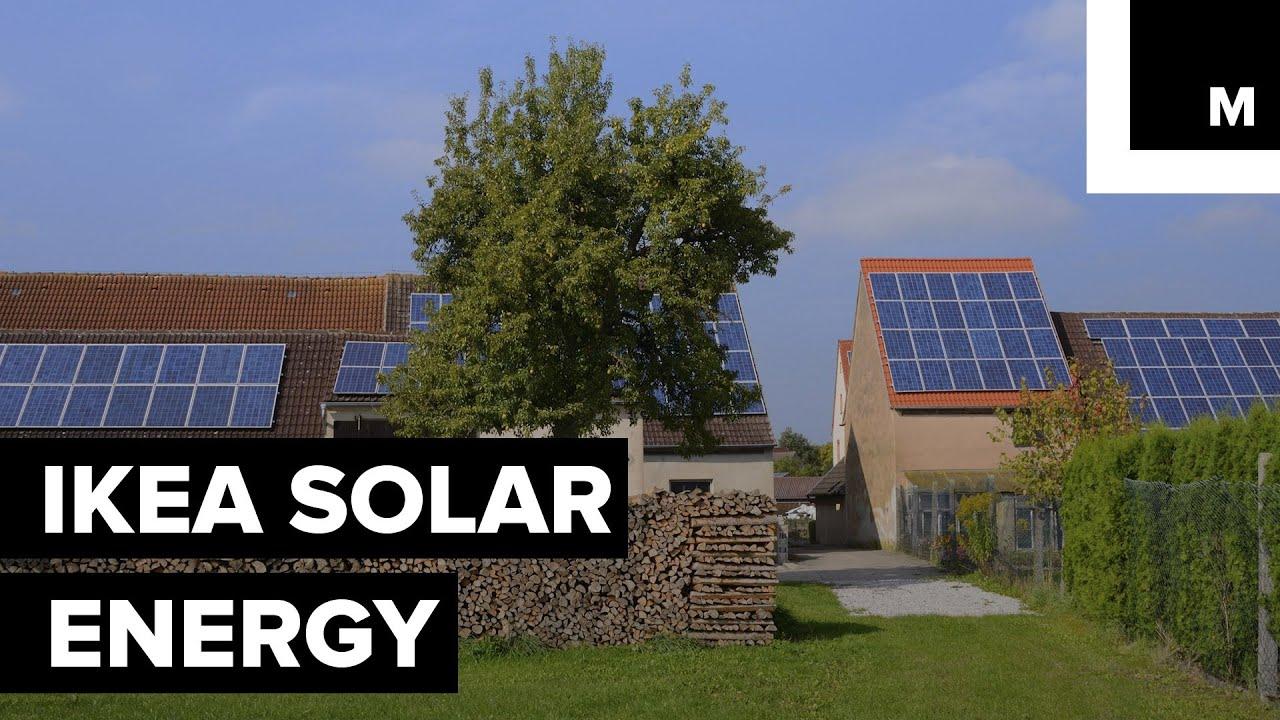 Ikea S Solar Energy Youtube