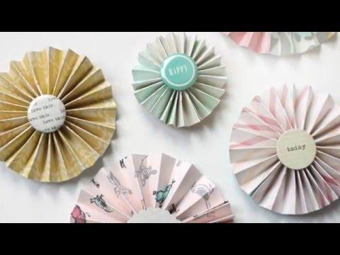 DIY Paper Pinwheels