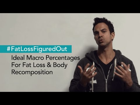 Ideal Macro Percentages For Fat Loss & Body Recomposition