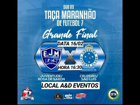 Final Juventude Rosa De Saron X Cruzeiro Sao Luis Categoria Sub 9 Youtube