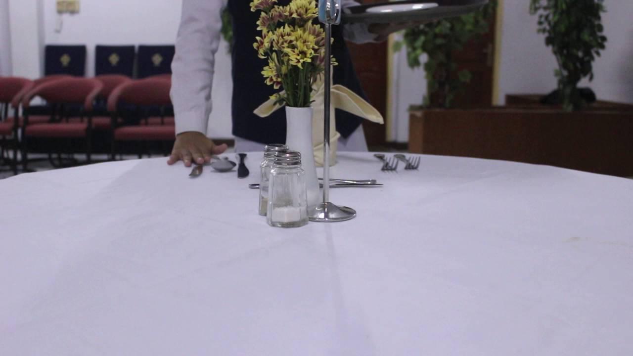 \u0027\u0027HOW TO SET UP TABLE FOR FRENCH SERVICE\u0027\u0027 - YouTube & HOW TO SET UP TABLE FOR FRENCH SERVICE\u0027\u0027 - YouTube