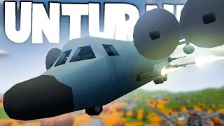 Unturned RP Funny Moments: AC-130 vs. Burner Zombie Boss! (Mod Showcase)