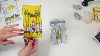 How To Connect & Link Tarot Cards  Masterclass 1