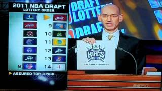 2011 NBA Draft Lottery W/ Kyrie Irving Interview [FULL HD]