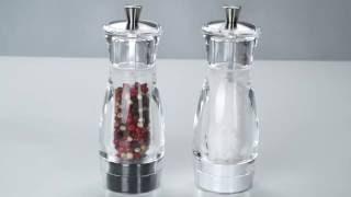 видео Мельница из нержавеющей стали электрическая для соли и перца 21 см купить арт. 41545. Westmark. Mechanical tools