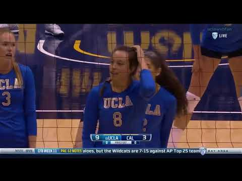 UCLA at CAL - NCAA Women's Volleyball (Nov 10th 2016)