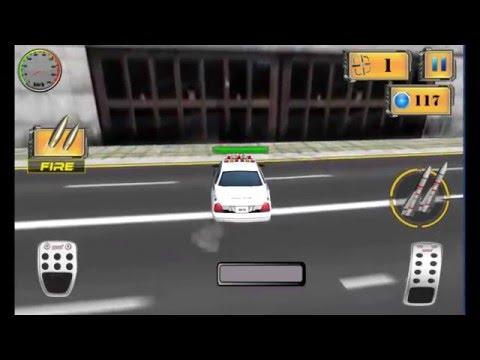 Про полицейские машины стрелялка игра