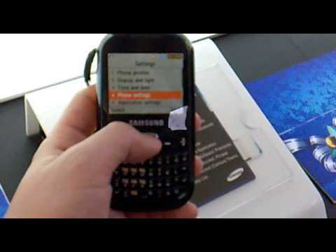 Samsung Corby TXT Hands-on 2