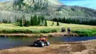 ATV in the uintas