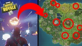 9 Areas That Got Destroyed By Meteors In Fortnite Battle Royale: Season 4