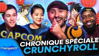 Une chronique spéciale Crunchyroll et la conférence Capcom au TGS ! 🎮🎌 | Manga Sûr