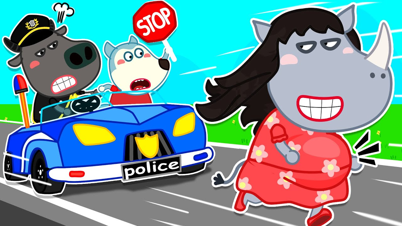 Wolf Family⭐️ Wolfoo Helps Police Catch Thief - Wolfoo Learns Kids Safety Tips | Kids Cartoon